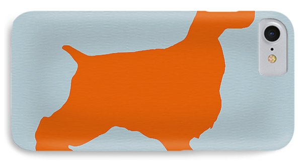 Springer Spaniel Orange IPhone Case