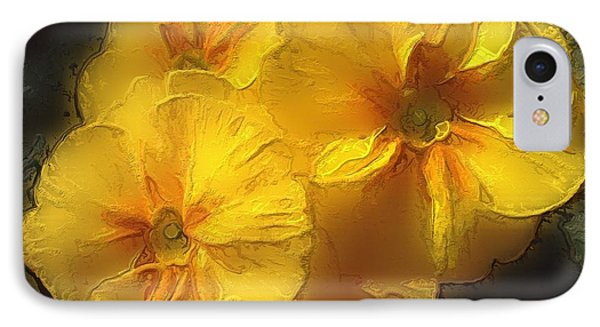 IPhone Case featuring the photograph Springflower 5 by Gabriella Weninger - David