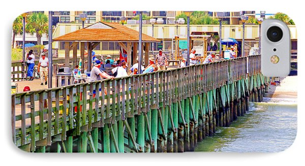 Springmaid Beach Pier 2006 IPhone Case