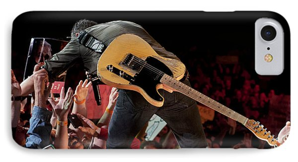 Springsteen In Charlotte IPhone Case by Jeff Ross