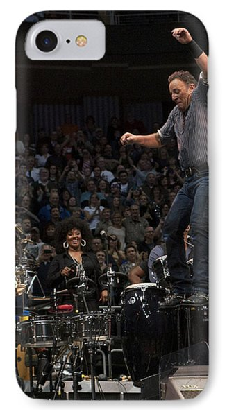 Springsteen In Motion IPhone Case by Jeff Ross