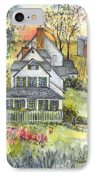 Springtime Down On The Farm Phone Case by Carol Wisniewski
