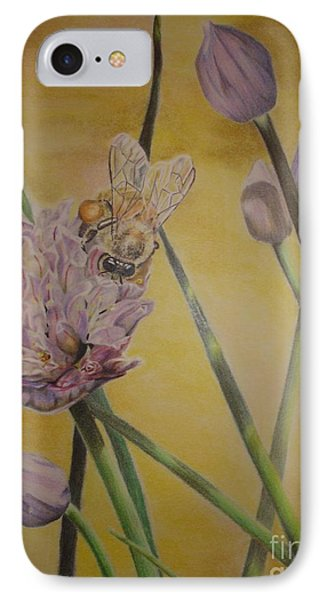 IPhone Case featuring the drawing Springtime Glow by Laurianna Taylor