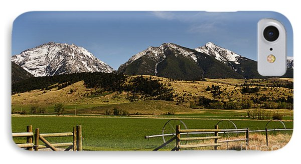 IPhone Case featuring the photograph Springtime In Montana by Sue Smith