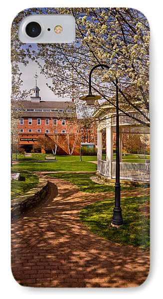 Springtime In Rotary Riverside Park IPhone Case