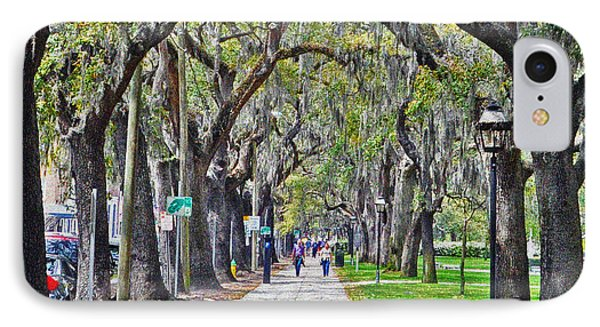 Springtime In Savannah IPhone Case by Lydia Holly