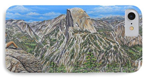Springtime In Yosemite Valley IPhone Case by Jane Girardot
