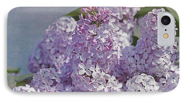 Springtime Lilacs IPhone Case