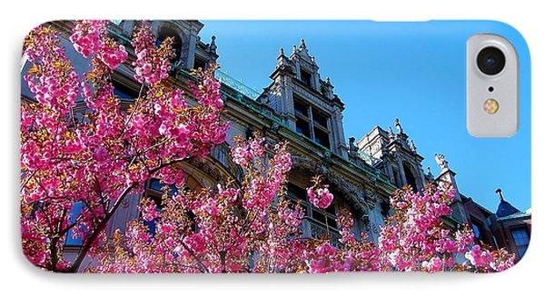 Springtime On Commonwealth Avenue IPhone Case