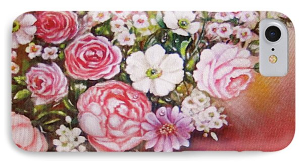 IPhone Case featuring the painting Springtime by Patricia Schneider Mitchell