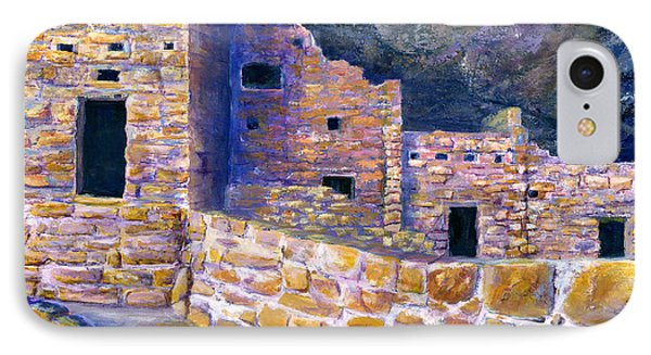 Spruce House At Mesa Verde In Colorado Phone Case by Lenora  De Lude