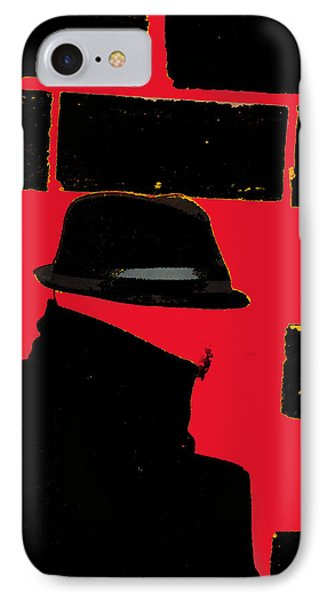Spy IPhone Case by Ken Walker