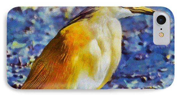 Squacco Heron Phone Case by George Rossidis