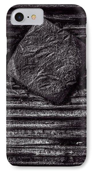 Square Head IPhone Case by Bob Orsillo