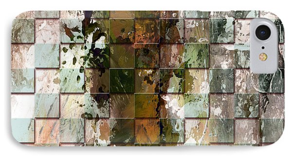 Square Mania - Abstract 09 Phone Case by Emerico Imre Toth