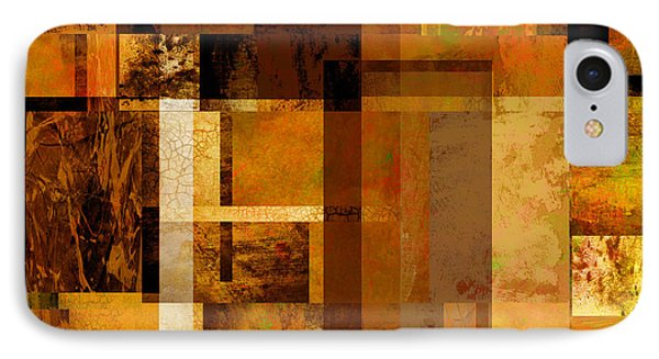 Squares And Rectangles Phone Case by Ann Powell