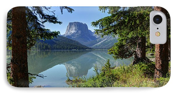 Squaretop Mountain - Wind River Range IPhone Case