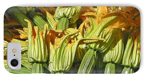 Squash Blossoms Phone Case by Jean Hall