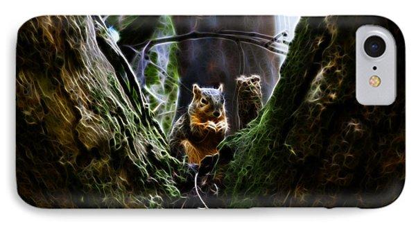 Squirrel 8309 - F Phone Case by James Ahn