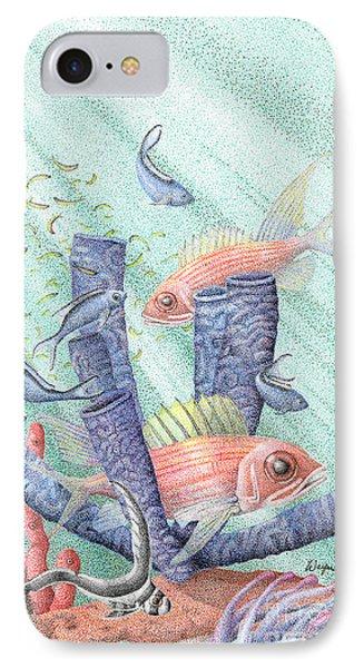 Squirrel Fish Reef IPhone Case