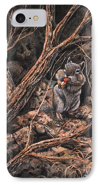Squirrel-ly IPhone Case by Ricardo Chavez-Mendez
