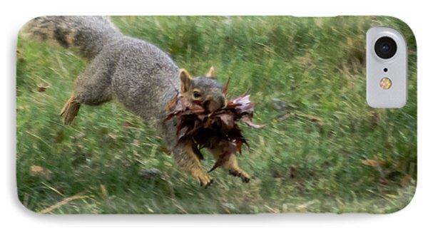 Squirrel Nest Bulding IPhone Case