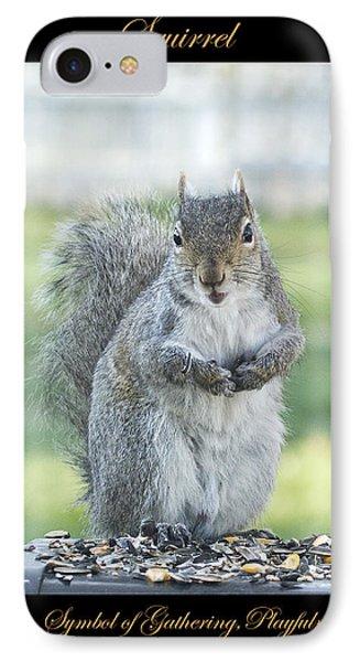 Squirrel Symbol Of IPhone Case