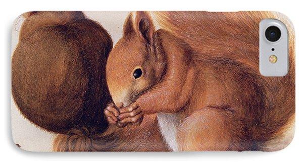 Squirrels Phone Case by Albrecht Duerer