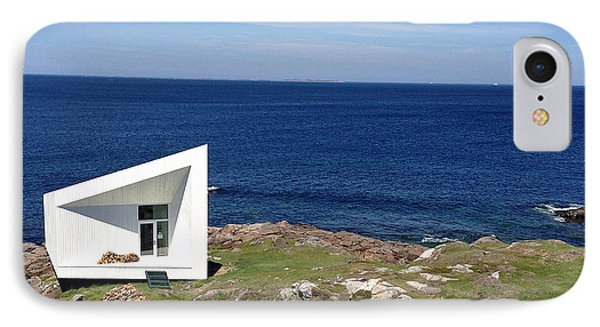 Squish Studio Tilting Fogo Island Newfoundland IPhone Case