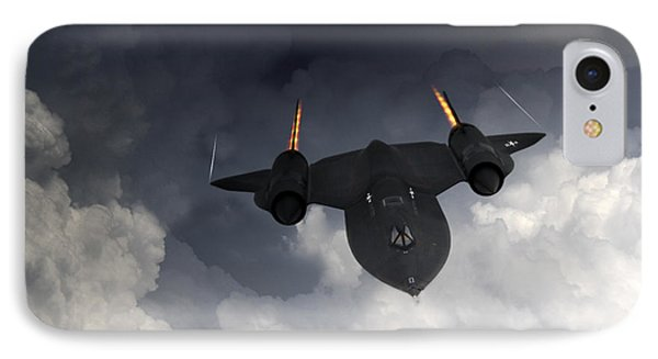 Sr-71 Blackbird Phone Case by J Biggadike