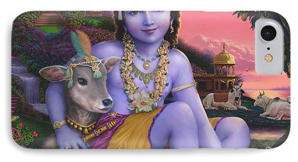 Sri Krishnachandra IPhone Case
