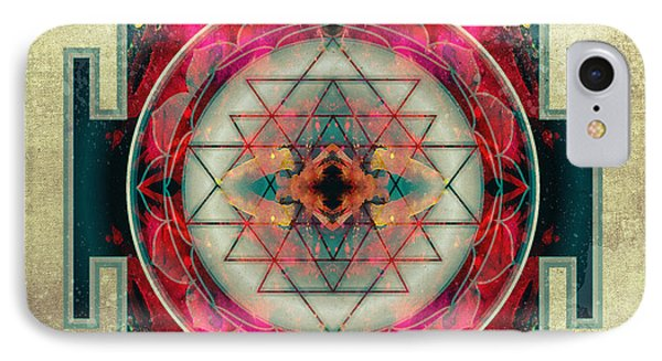 Sri Yantra  IPhone Case by Filippo B