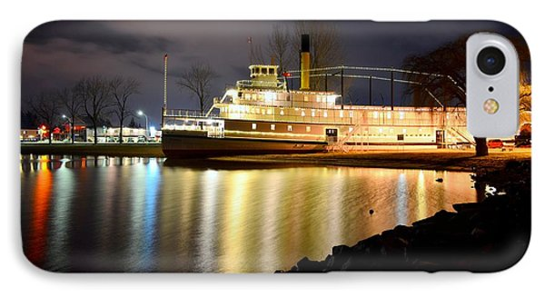 Ss Sicamous Steam Ship 1/21/2014  IPhone Case