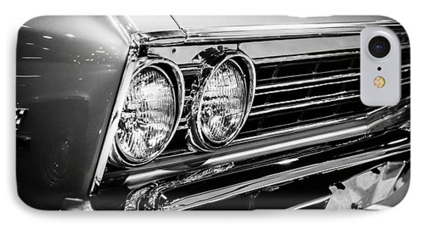 Ss396 Chevelle Black And White Picture Phone Case by Paul Velgos