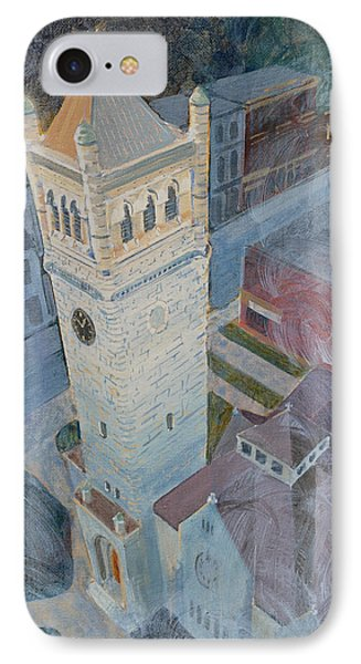 St Andrews Bell Tower IPhone Case by David Gilmore