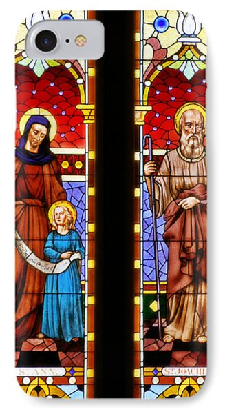 St Ann And St Joachim IPhone Case by Christine Till