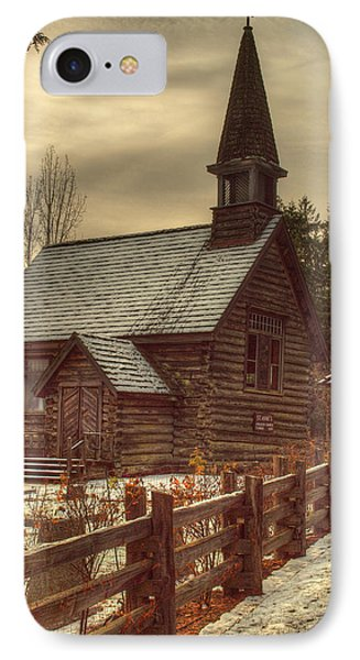 St Anne's Church In Winter Phone Case by Randy Hall