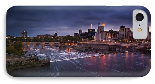 St. Anthony Falls IPhone Case by Bryan Scott