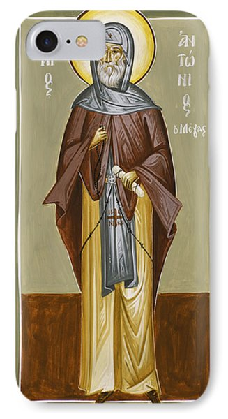 St Anthony Phone Case by Julia Bridget Hayes