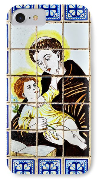 St Anthony Of Padua IPhone Case by Christine Till