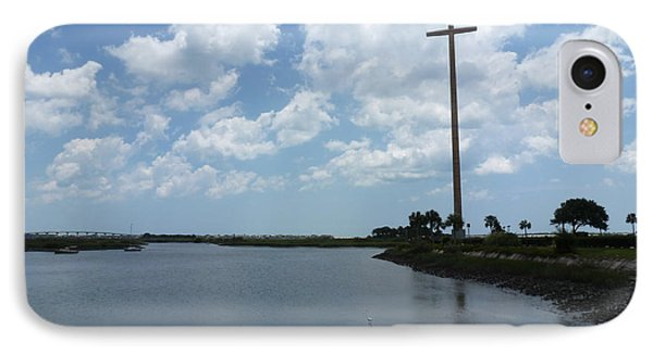 St. Augustine Florida Mission Of Nombre De Dios IPhone Case by Andrew Rodgers