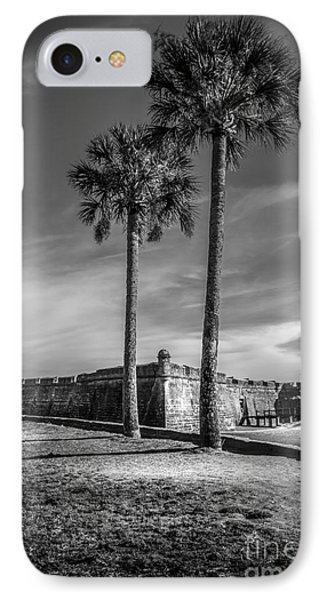 St. Augustine Fort IPhone Case by Marvin Spates