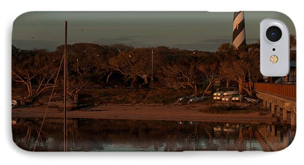 St. Augustine Lighthouse Beach Early Morning Color IPhone Case
