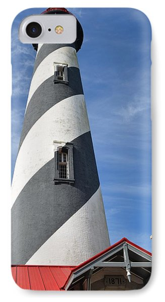 St. Augustine Lighthouse IPhone Case by Richard Bryce and Family