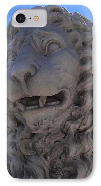 St. Augustine Lion 1 Phone Case by Sheri McLeroy