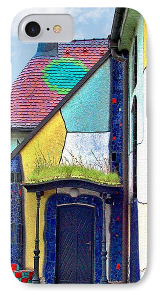 St Barbara Church - Baernbach Austria IPhone Case by Christine Till