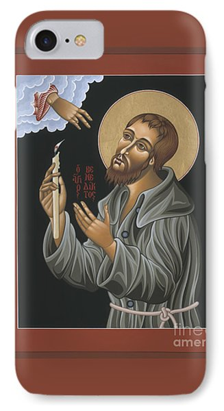 IPhone Case featuring the painting St. Benedict Joseph Labre 062 by William Hart McNichols