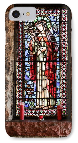 St. Catherine Of Siena IPhone Case by Lynn Sprowl