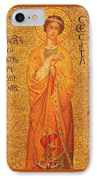 St Cecilia  IPhone Case by Philip Ralley