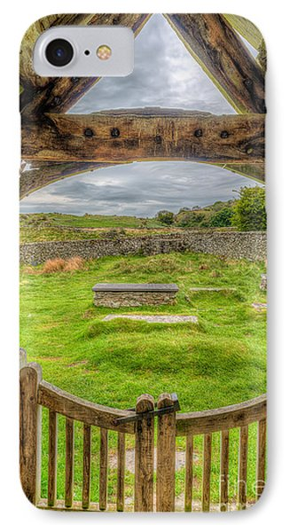 St Celynnin Graveyard IPhone Case